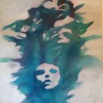 Acryl auf Pappe, 100x120cm