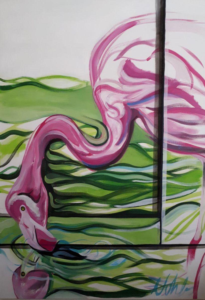 Acryl auf Leinwand, 70x100cm