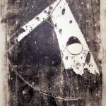 Auftakt zum Gemeinschaftsprojekt mit Alexandra Franz, Holzschnitt, 32 x 48,5cm, Auflage: 100