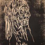 Holzschnitt, ca. 25x38 cm, Auflage 100