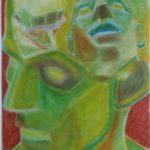 Pastellkreide, 58x42 cm