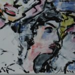 Acryl auf Bütten, 76x56 cm