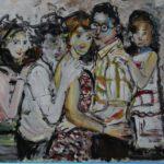 Acryl auf Bütten, 56x76 cm