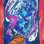 Aquarell auf Bütten, 56x76cm