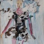 Aquarell auf Papier, 48x38 cm