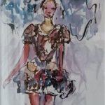 Aquarell auf Papier, 48x36 cm