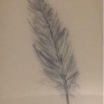 Tuschezeichnung auf Bütten, 56x76 cm